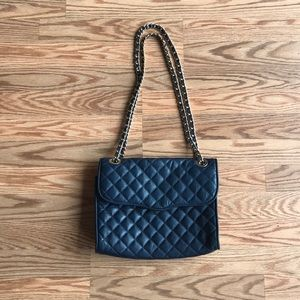 REBECCA MINKOFF | Navy Quilted Affair Purse